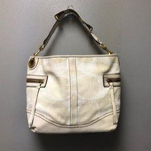 Coach Legacy Canvas/Leather Bag